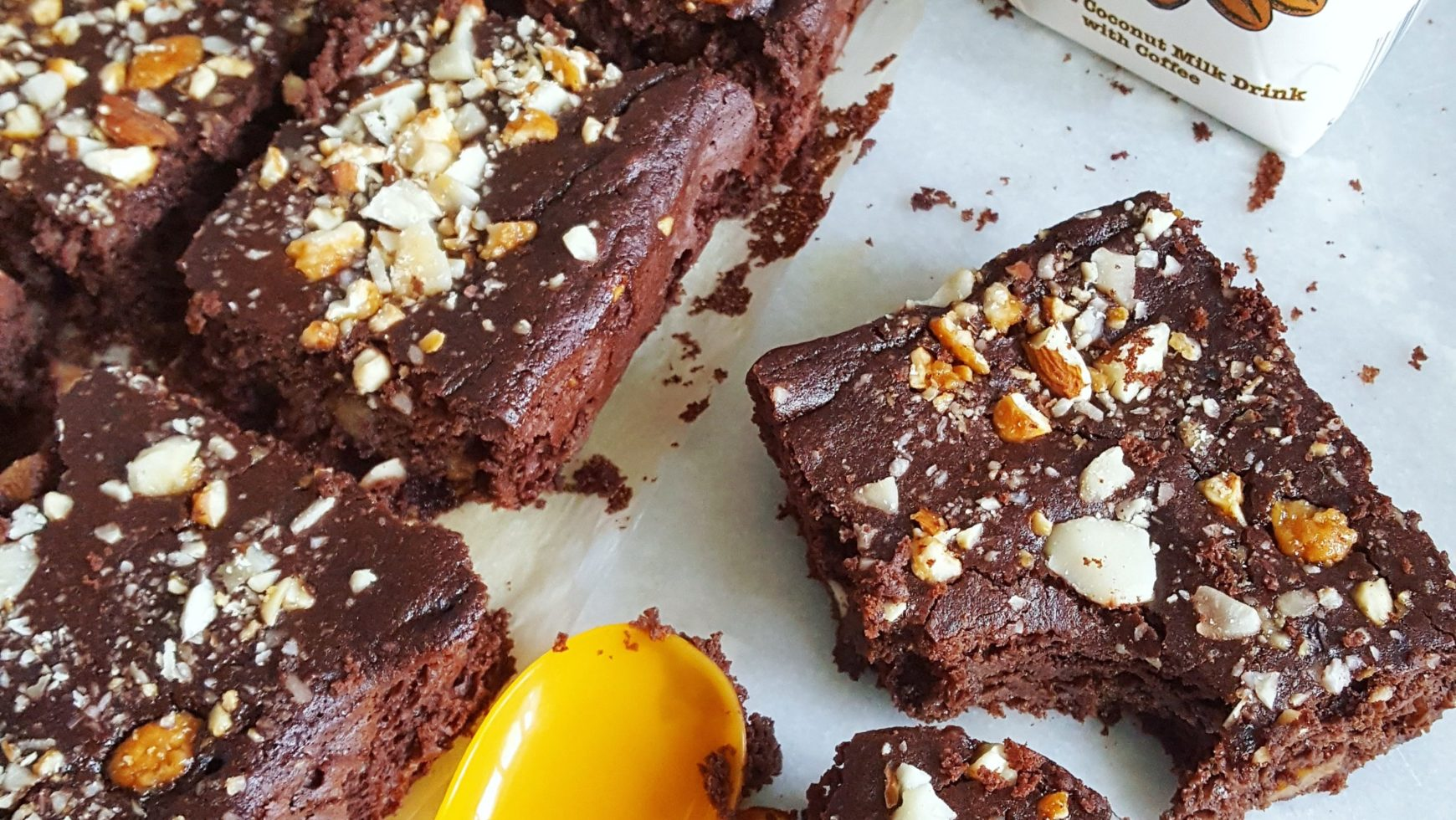Brownie aux haricots rouges: la recette healthy-Snackies